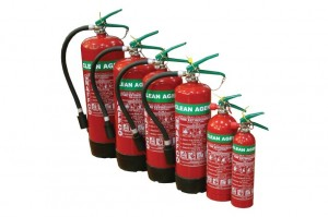 Cleant Agent Fire Extinguisher