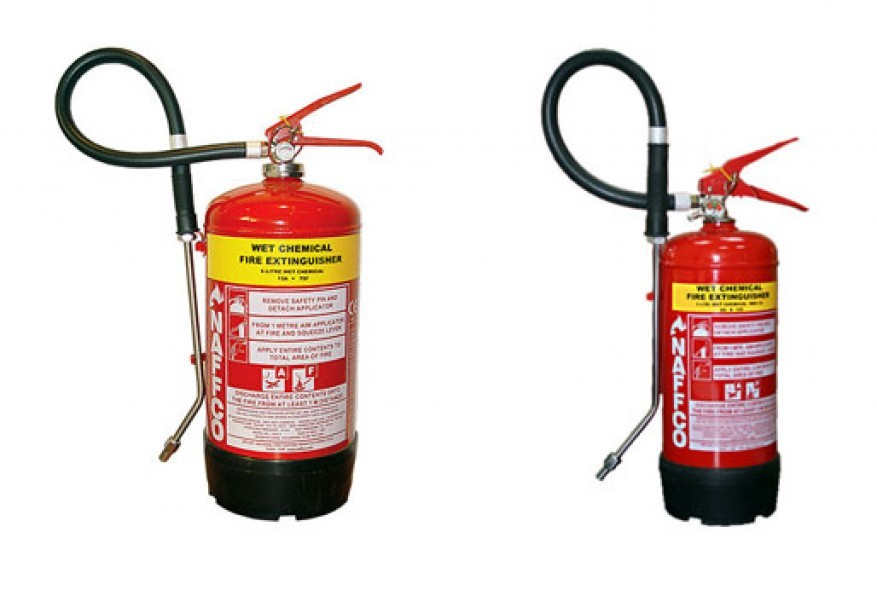 Naffco Fire Extinguisher Wet Chemical Fire Extinguisher