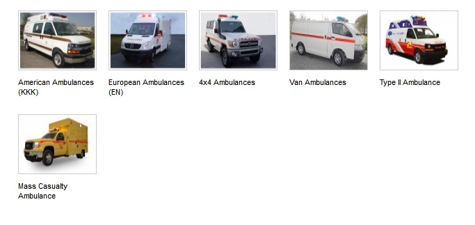 Ambulance Fire Fighting