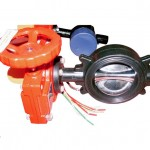 Butterfly Valve Wafer with Tamper Switch