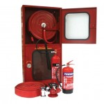 Fire Hose Reel Double Cabinet