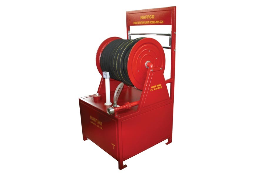 Fire Hose Reel with Foam Tank